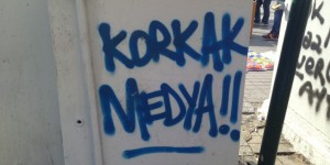 Coward Media sign in Istanbul.