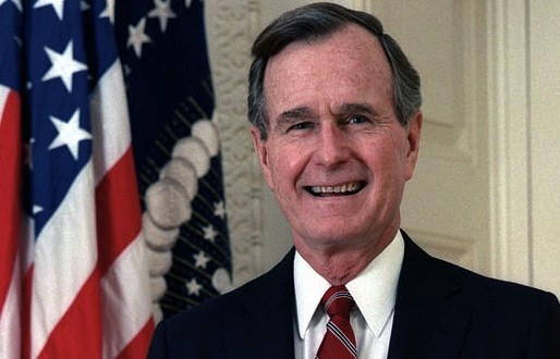 Importance of U.S.-Polish Ties Underscored by Vice President Bush During 1987 Visit to Krakow