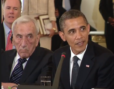 President Obama with Tadeusz Mazowiecki, Photo and Video